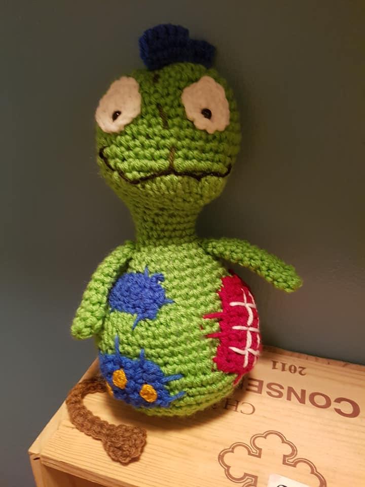 Free Crochet Pattern For Patchypatch Crochetstein