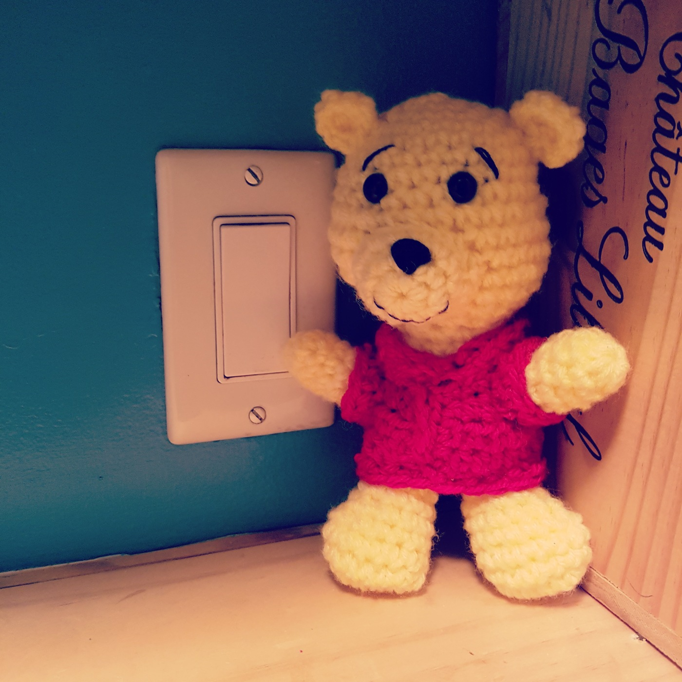 How to Crochet Teddy Bear Winnie The Pooh: Crochet Pattern ... | 1400x1400